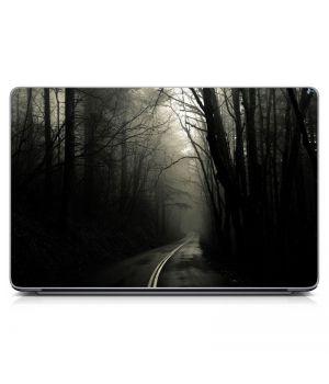 """Универсальная наклейка на ноутбук 15.6""""-13.3"""" Forest Road Матовая 380х250 мм"""