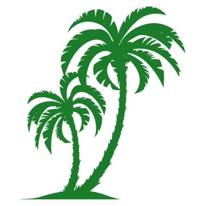 Вінілова Наклейка Glozis Palm Tree