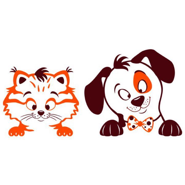 Інтер'єрна Наклейка Glozis Pets