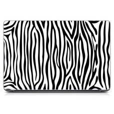 Наклейка на ноутбук - Zebra Stripes