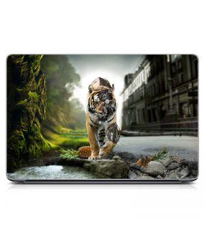 """Универсальная наклейка на ноутбук 15.6""""-13.3"""" Two Worlds Матовая 380х250 мм"""