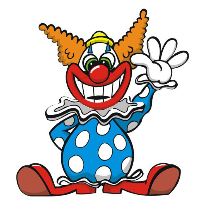 Вінілова Наклейка Glozis Clown
