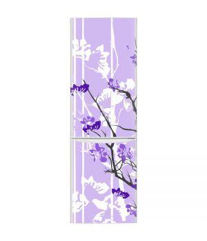 Наклейка на холодильник - Фиолетовое спокойствие