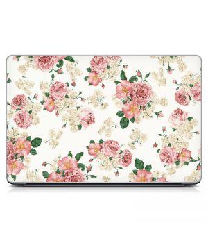 """Универсальная наклейка на ноутбук 15.6""""-13.3"""" Roses Матовая 380х250 мм"""