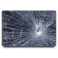 Наклейка на ноутбук - Cracked