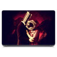 Наклейка на ноутбук - Screw Love