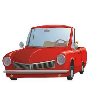 Виниловая Наклейка Glozis Cute Car