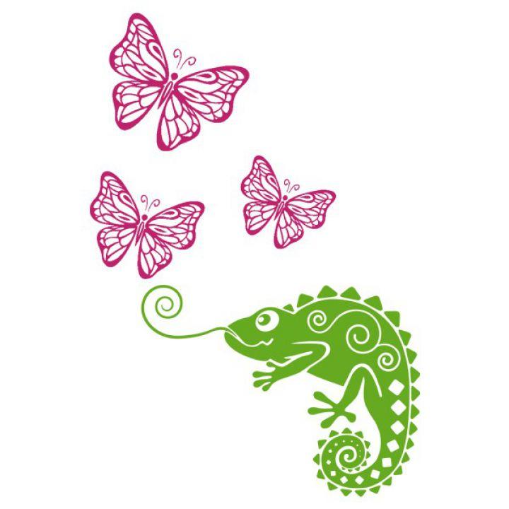 Вінілова Наклейка Glozis Chameleon