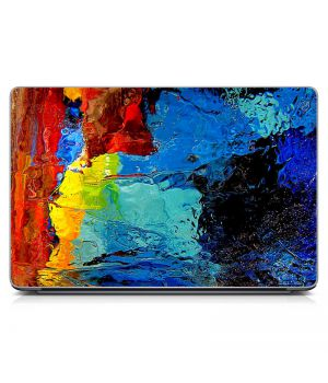 """Универсальная наклейка на ноутбук 15.6""""-13.3"""" Painted Матовая 380х250 мм"""