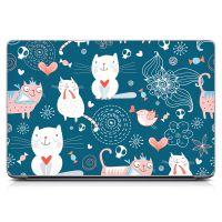 Наклейка на ноутбук - Cat Dreams