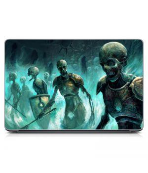 Наклейка на ноутбук - Zombies Skeletons