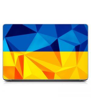 Наклейка на ноутбук - Ukraine Flag