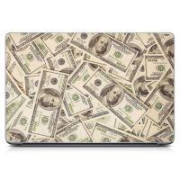 """Универсальная наклейка на ноутбук 15.6""""-13.3"""" Benjamins 380х250 мм"""