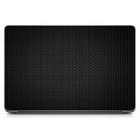 """Універсальна наклейка для ноутбука, 13.3""""-17.3"""" 400x260 мм Black Metal Матова"""