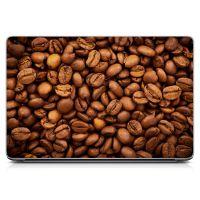 """Универсальная наклейка на ноутбук 15.6""""-13.3"""" Coffee Beans 380х250 мм"""
