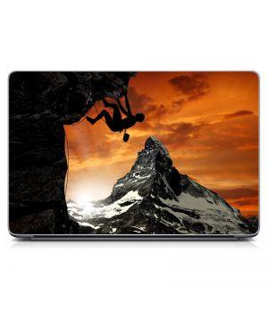 Наклейка на ноутбук - Альпинист