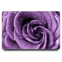 "Універсальна наклейка для ноутбука 15.6""-13.3"" Purple Rose 380х250 мм"