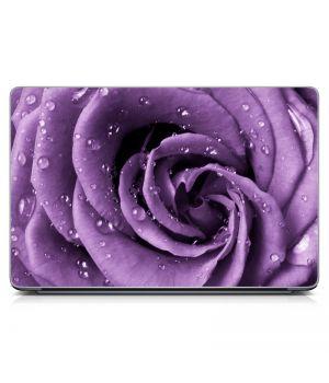 "Универсальная наклейка на ноутбук 15.6""-13.3"" Purple Rose 380х250 мм"
