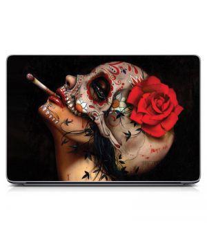Наклейка на ноутбук - Viva La Muerte