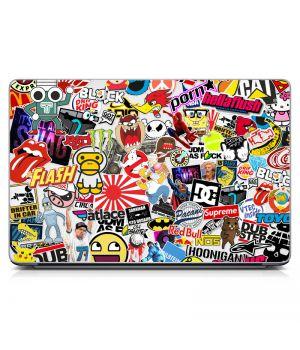 """Універсальна наклейка для ноутбука 15.6""""-13.3"""" Sticker Bombing 380х250 мм"""