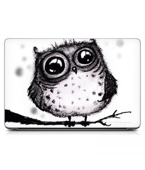 Наклейка на ноутбук - Agaze Owl