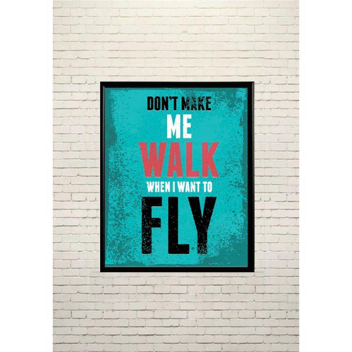 Постер Арт Я хочу літати