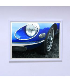 Постер на стену Синий автомобиль
