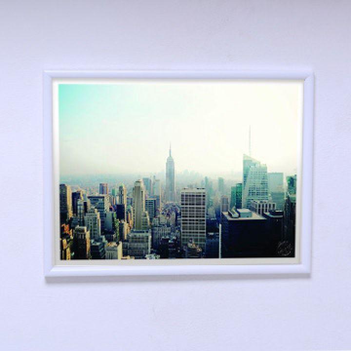 Постер в кімнату Ранок у великому місті