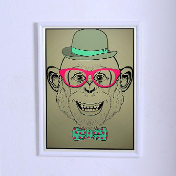 Оригінальний постер Мавпа хіпстер