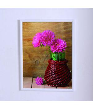 Постер для дома Астры в плетёной корзине