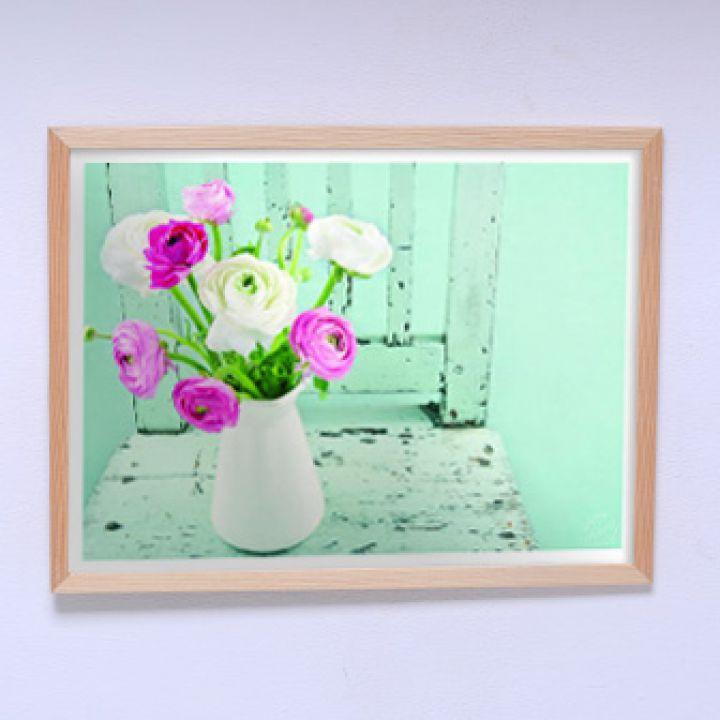 Постер для дома Цветы в стиле прованс