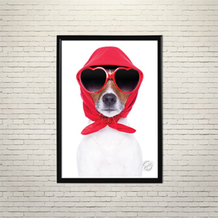 Постер Арт Собака в тренді