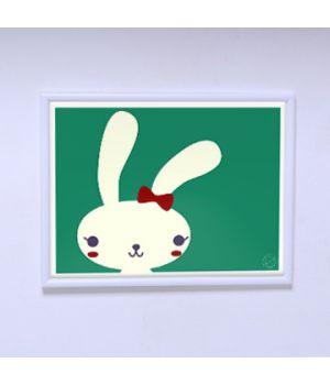 Постер в комнату Модная зайка