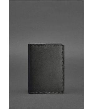 Дизайнерская кожаная обложка на паспорт, 77120