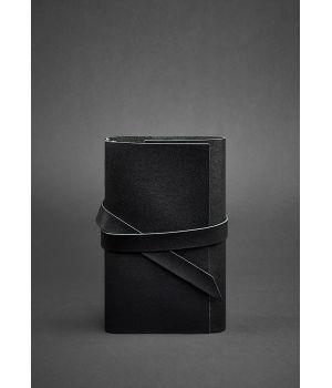 Кожаный блокнот (Софт-бук) 1.0 черный