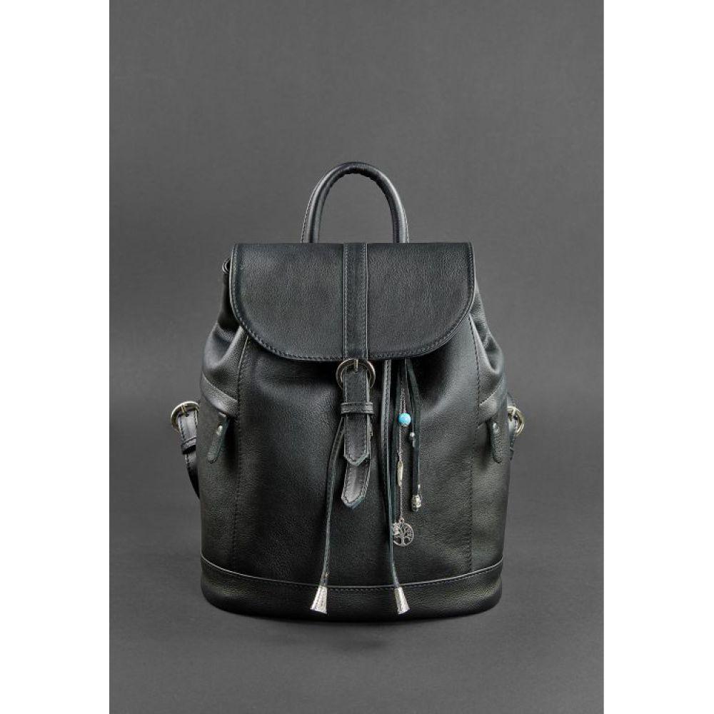 aeb7c6febedb Кожаный рюкзак Олсен оникс - Купить женские рюкзаки в Украине, цена ...