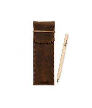 Чохол для ручок 1.0 Горіх ( еко-ручка і олівець)
