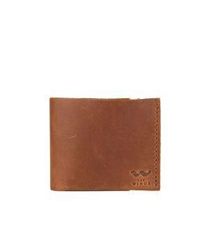 Кожаный мужской кошелек бумажник ручной работы, 76796