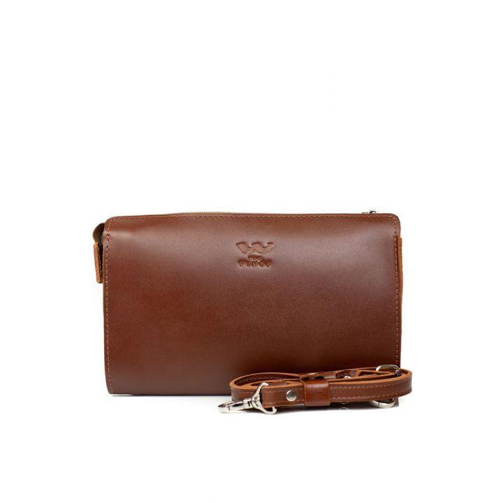 Стильная сумка из натуральной кожи, 78317