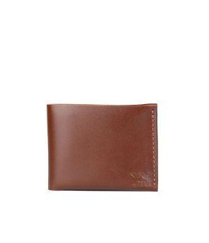 Кожаный мужской кошелек бумажник ручной работы, 76799