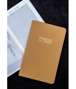 FITNESS FOR HAPPINESS щоденник досягнень для контролю і планування тренувань