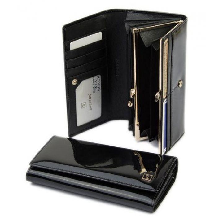 Гаманець Gold шкіра Bretton W1-V black