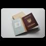 """Обкладинка для паспорта """"i'm crazy and I Like it!"""" блокнотик"""