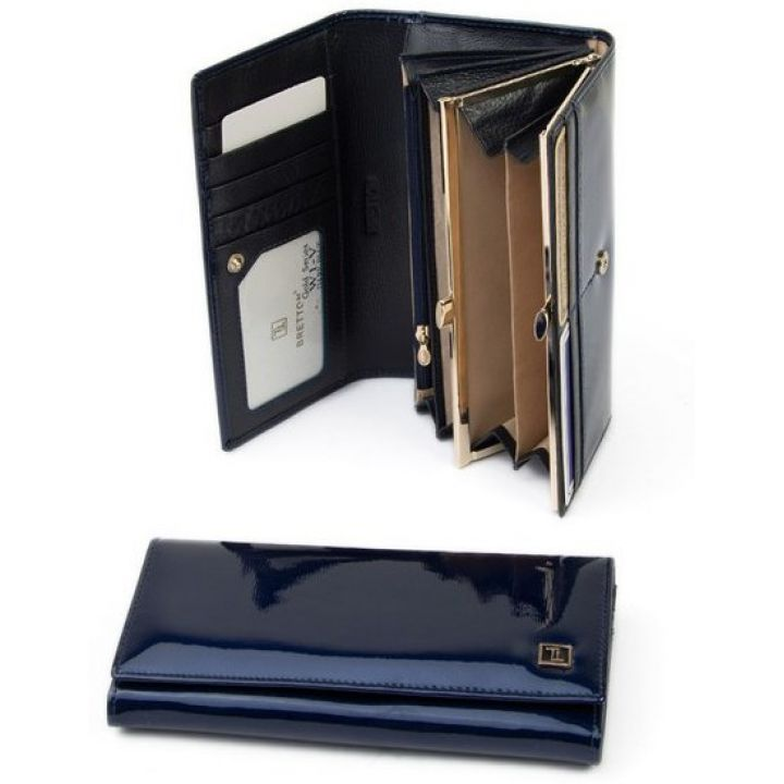 Гаманець Gold шкіра Bretton W1-V dark-blue