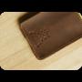 Портмоне для банковских карточек и визиток 2.0 Орех-лайм