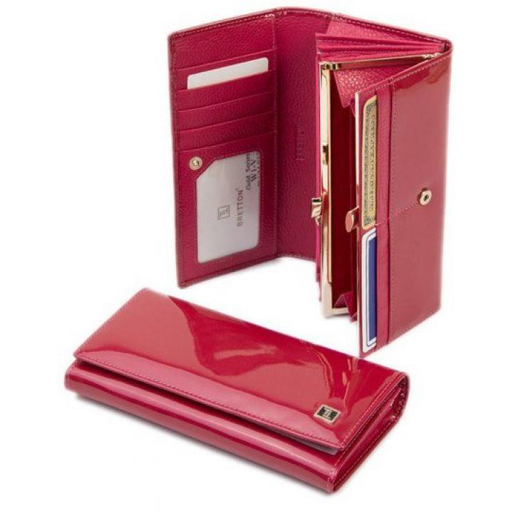 Гаманець Gold шкіра Bretton W1-V plum-red