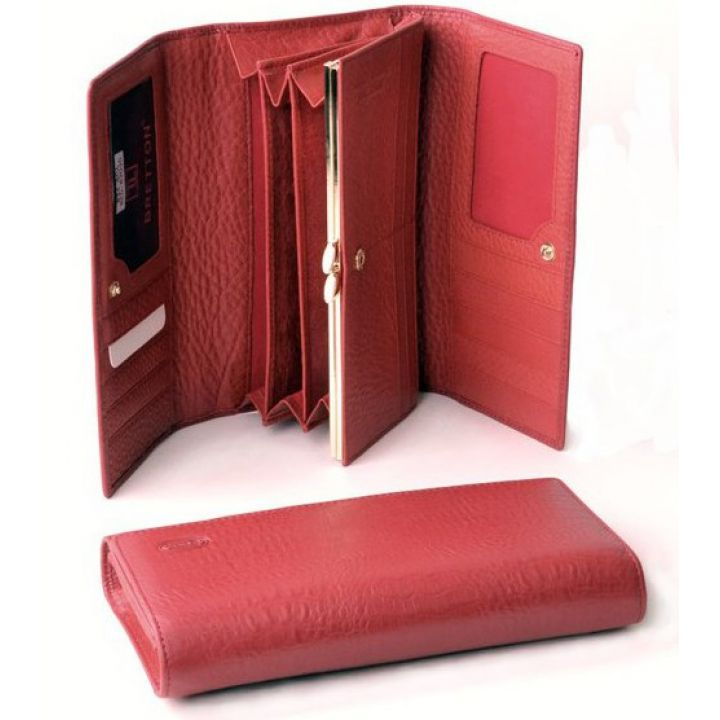 Гаманець SPA шкіра Bretton W34 red