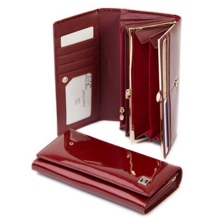 Гаманець Gold шкіра Bretton W1-V red