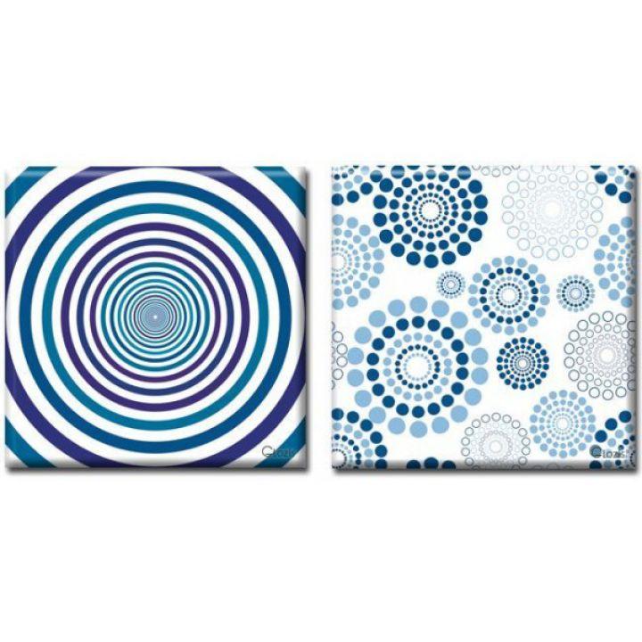 Модульные картины на холсте Glozis Hypnosis