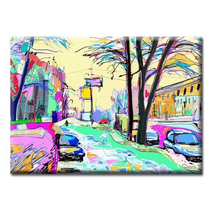 Картина на холсте Glozis Street